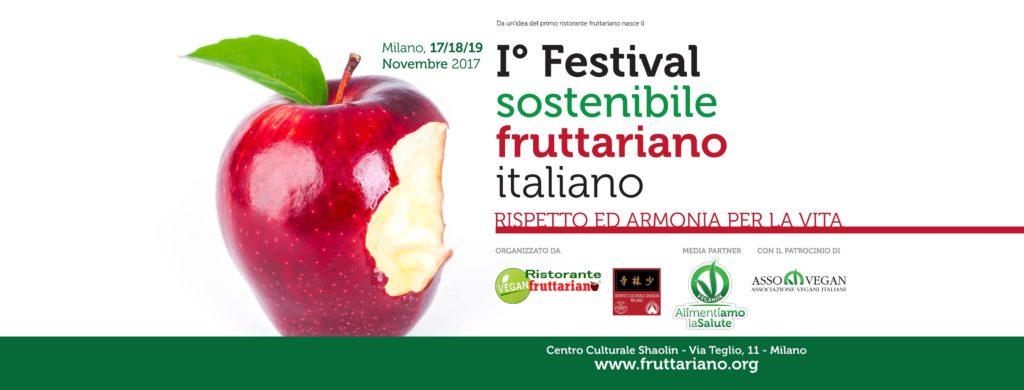 1°FESTIVAL FRUTTARIANO - logo