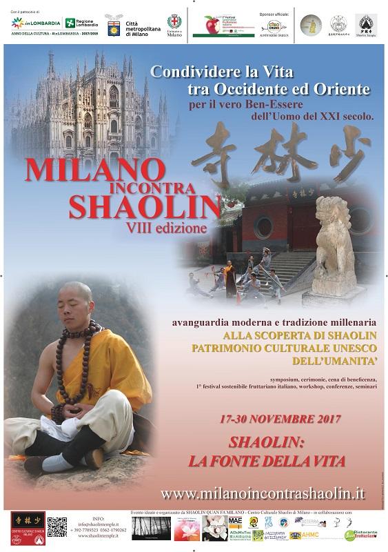 MILANO incontra SHAOLIN VIII ed. 2017