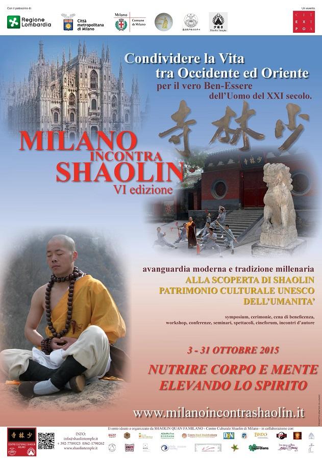 MiS 2015 - MILANO incontra SHAOLIN VI ed.