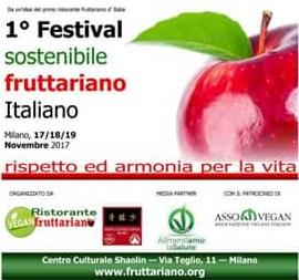 1°festival fruttariano sostenibile italiano