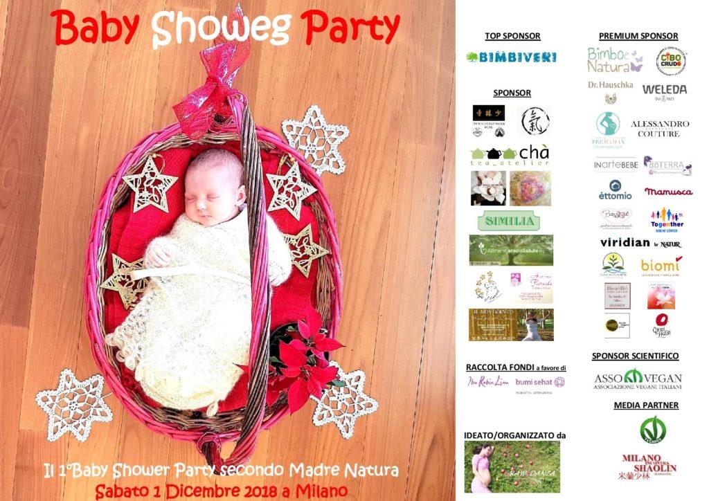 Baby Showeg Party secondo Madre Natura 1°Edizione 2018 - locandina