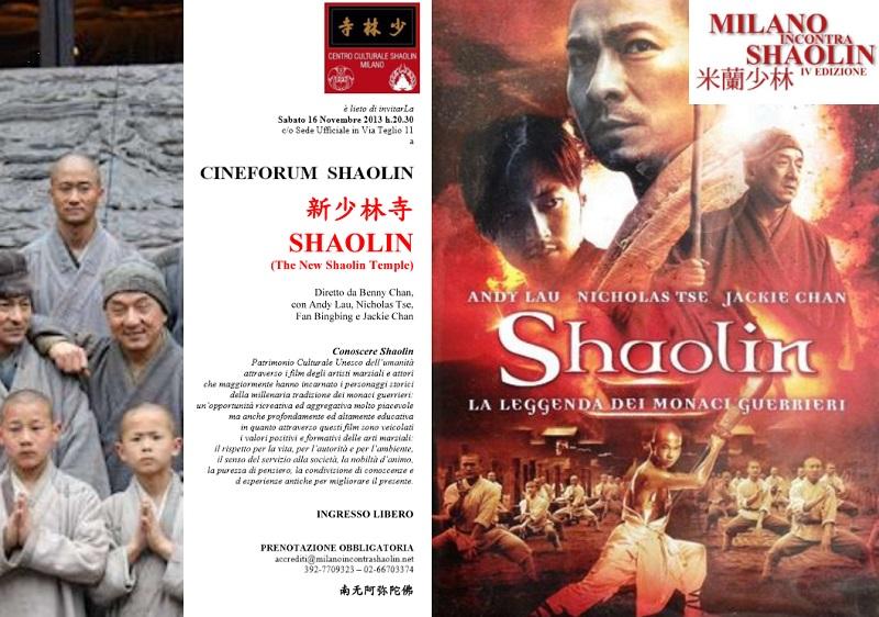 CINEFORUM SHAOLIN-MIS 2013