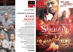 CINEFORUM SHAOLIN -- MiS 2015