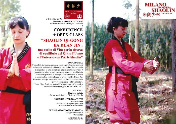 OPEN CLASS SHAOLIN QI-GONG - MiS17