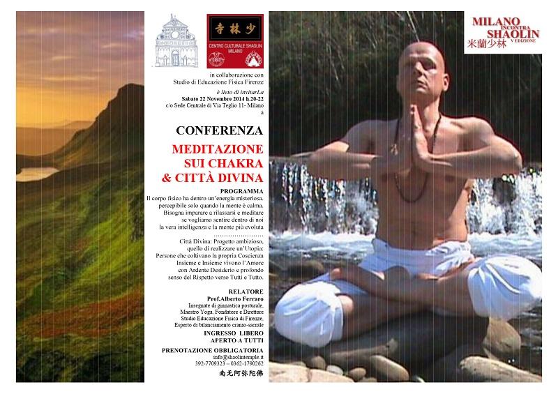 CONFERENZA MEDITAZIONE & CITTA' DIVINA - MiS 2014
