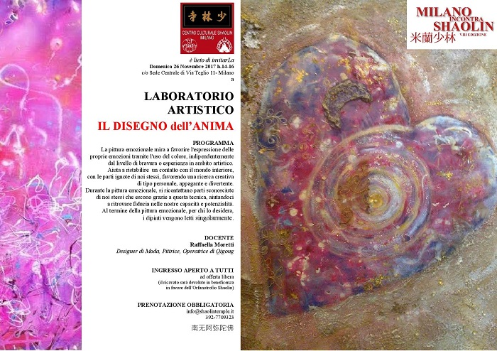 WORKSHOP PITTURA EMOZIONALE - MiS17