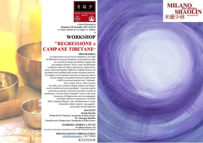 REGRESSIONE & CAMPANE TIBETANE - MiS17