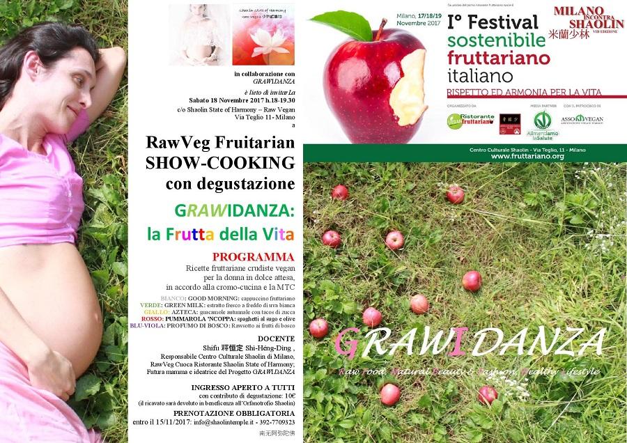 MiS 2017+FESTIVAL FRUTTARIANO - gRAWiDANZA - la frutta della Vita