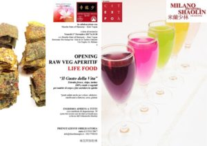 OPENING RAW VEG - Opening Aperitif - MIS 2017 -